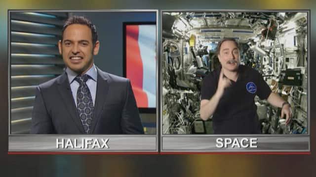 Commander Hadfield's New Space