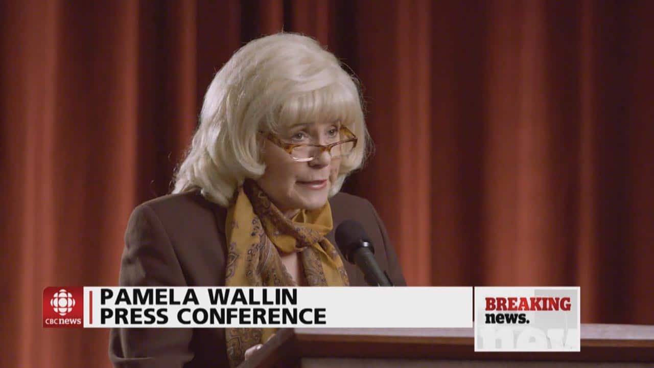 Pamela Wallin Press Conference