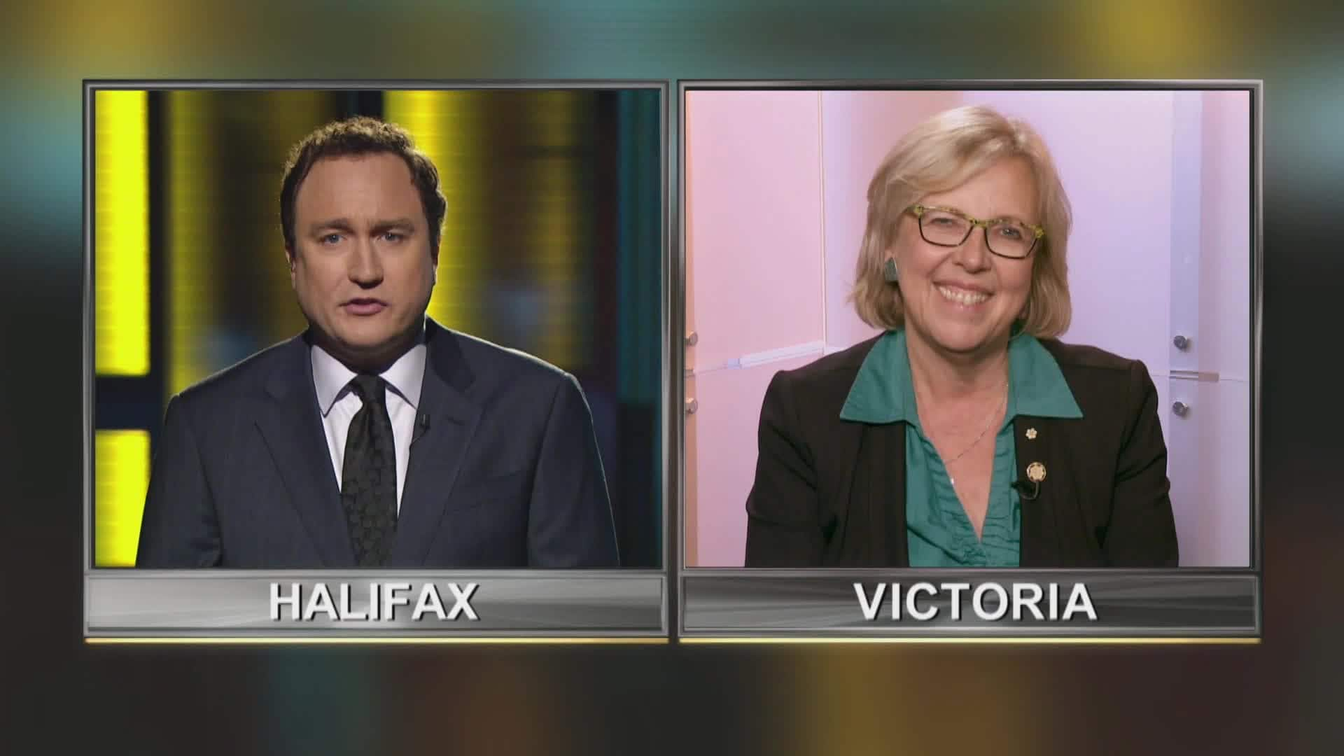 Satellite Interview with Elizabeth May