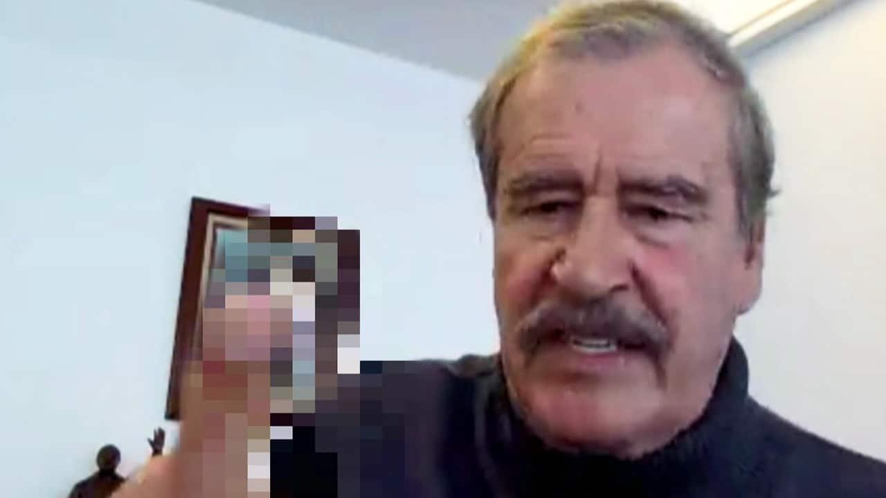 """He's a maniac!"" Vicente Fox on Trump"