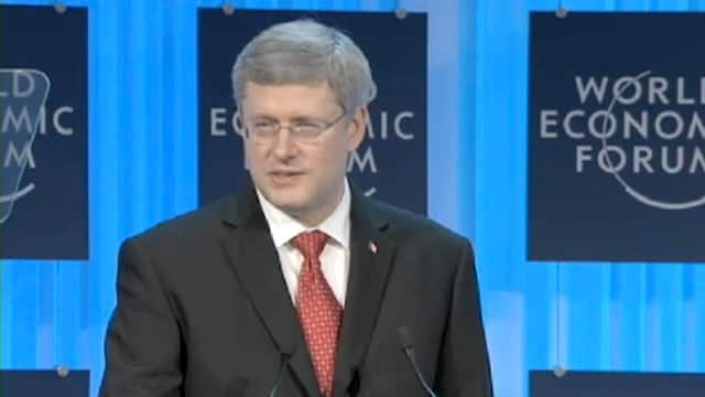 Grantham - Harper at the world economic forum