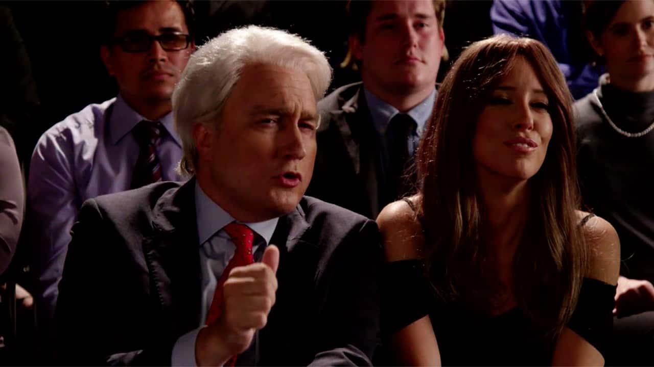 Bill Clinton & Melania Trump at the Debate