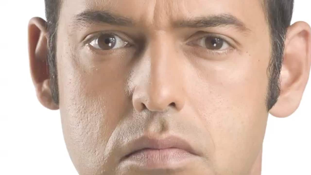 Shaun Majumder stares into your soul