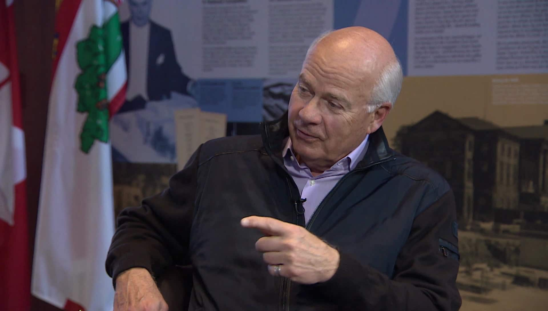 Exclusive interview: Mansbridge on Mansbridge