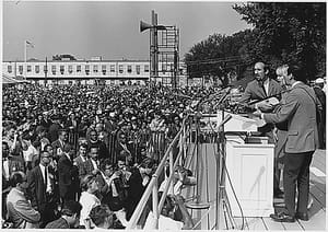 Peter, Paul and Mary at March on Washington.jpg
