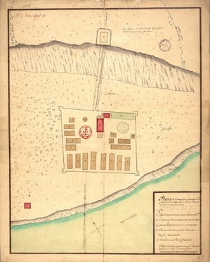 Plan du fort des Abénakis 1704.jpg