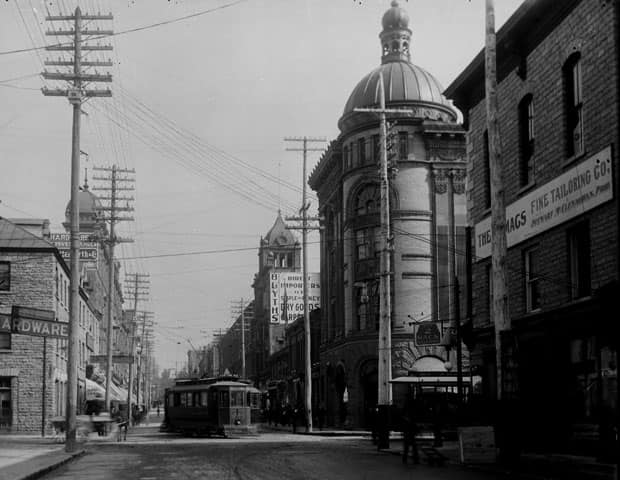 Sparks Street in 1901 - CP Archive Photo