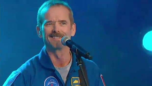 Chris Hadfield and Ed Robertson - ISS Live!