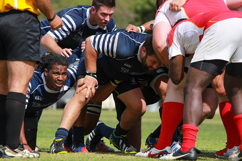 rugby match