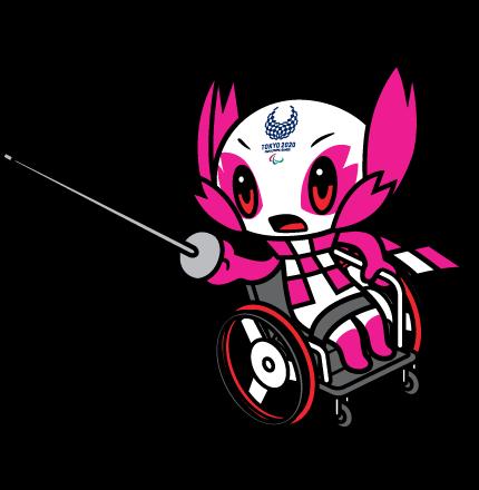 Wheelchair Fencing pictogram