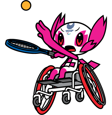 Wheelchair Tennis pictogram