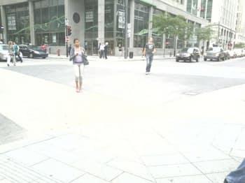 Pedestrian 4-way stop