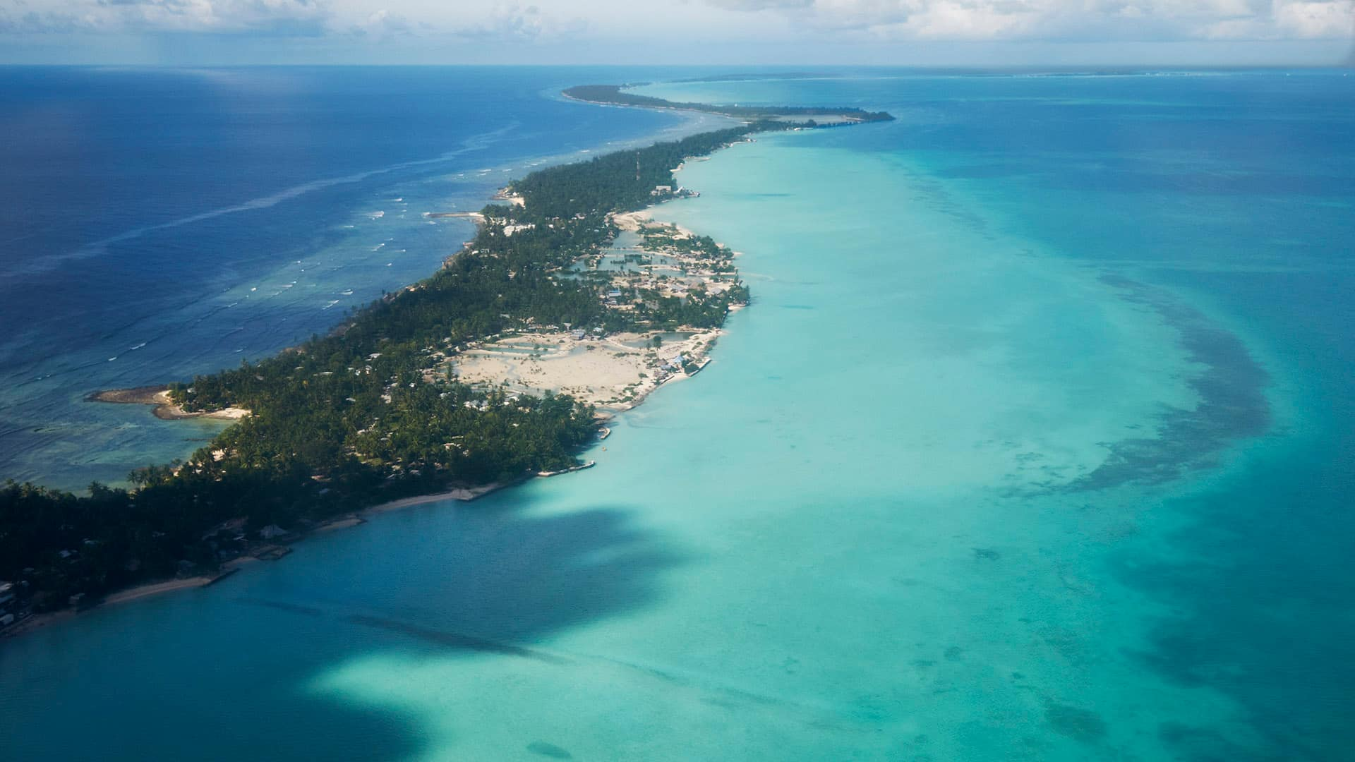A canary in the climate change coal mine: the island nation of Kiribati is disappearing into the sea