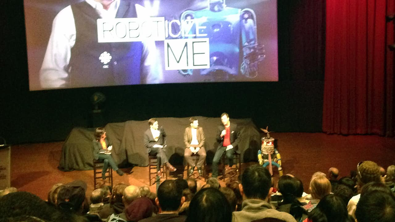 Roboticize Me Screening with HitchBOT