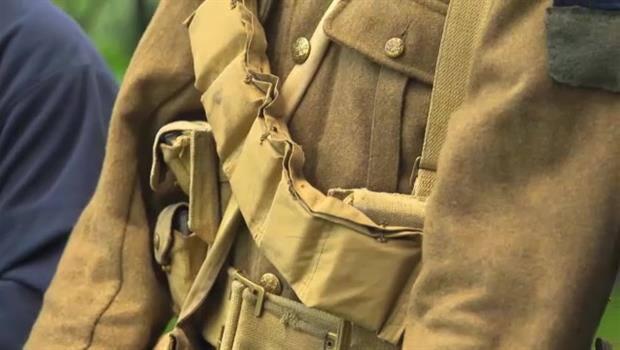 WWI Gear in the Battlefield