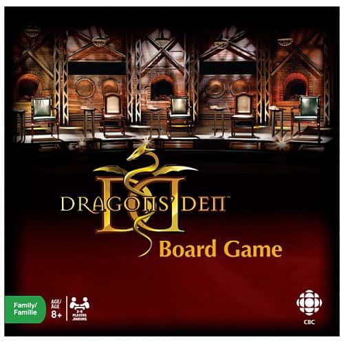 Dragons' Den Board Game Launches - Dragons' Den