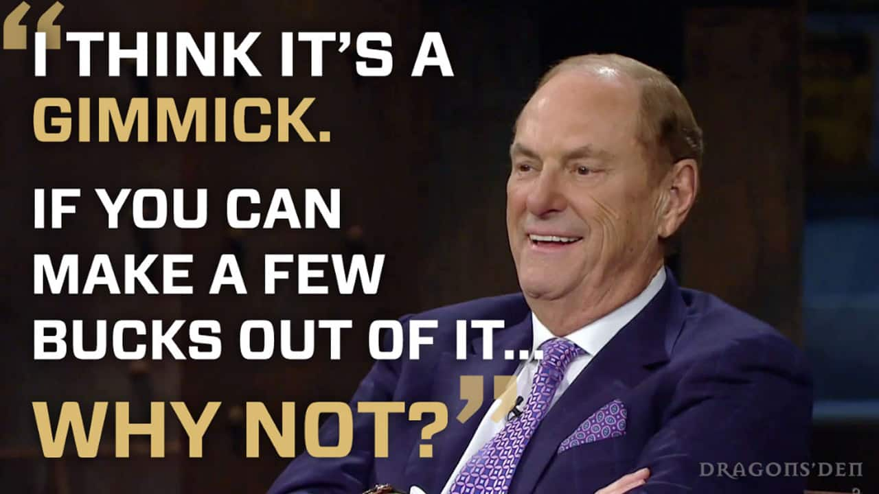 Jim Treliving says Vitality Air is a gimmick.