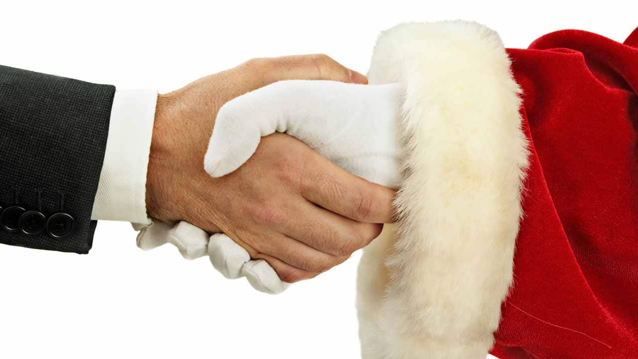 What business lessons can we learn from Santa Claus and other childhood faves?