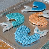 Pirates of the Caribbean Mermaid Tail Cookies