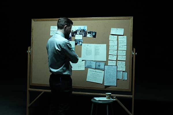 director looks at murder board