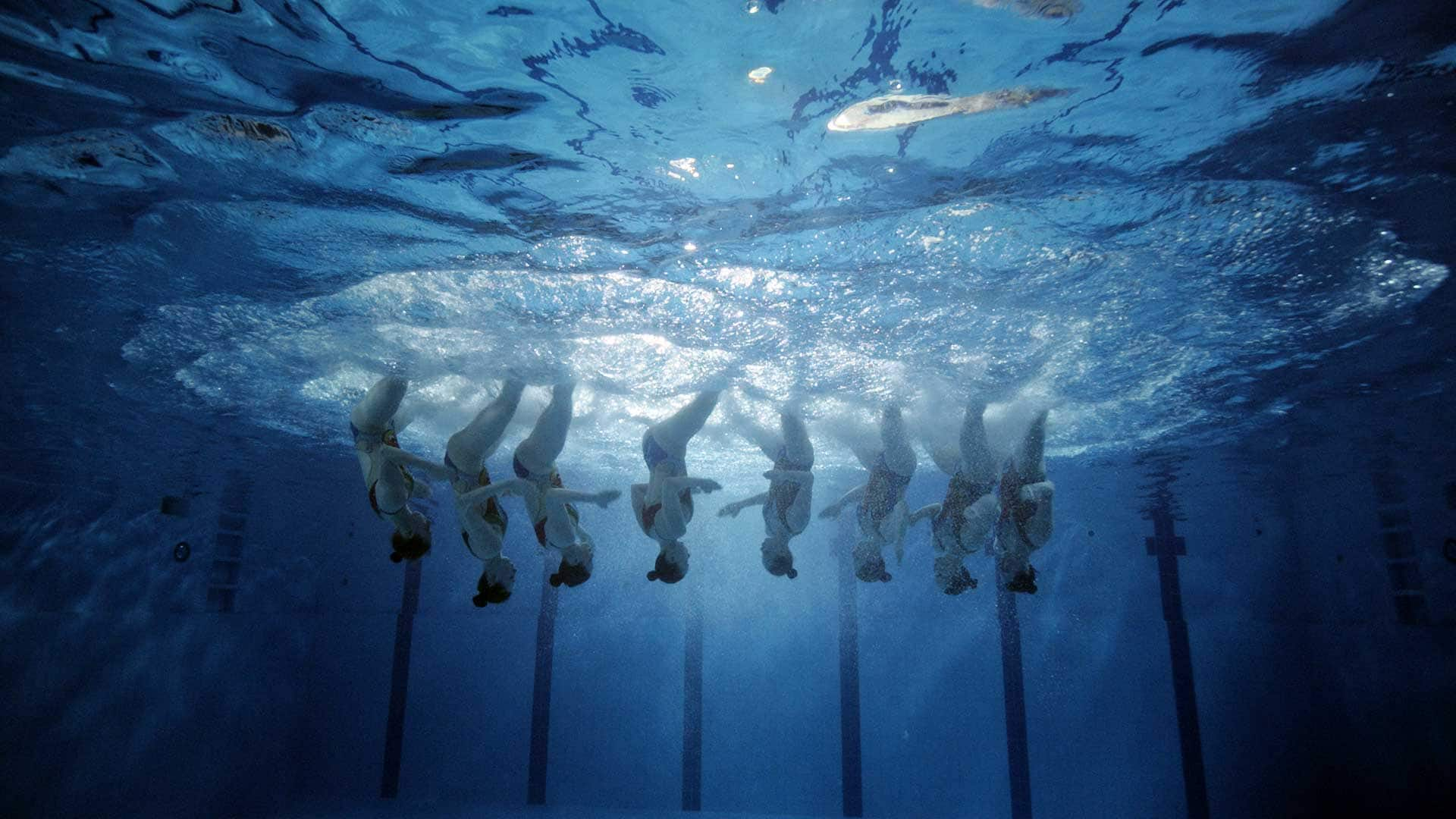 Putting the Spotlight on Synchronized Swimming, A Little-Known Olympic Sport