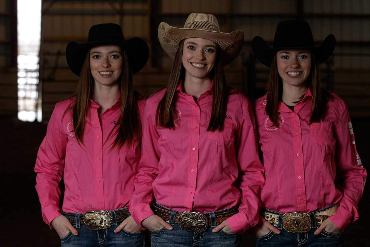 Wills Sisters A Triple Threat On Canada S Rodeo Scene
