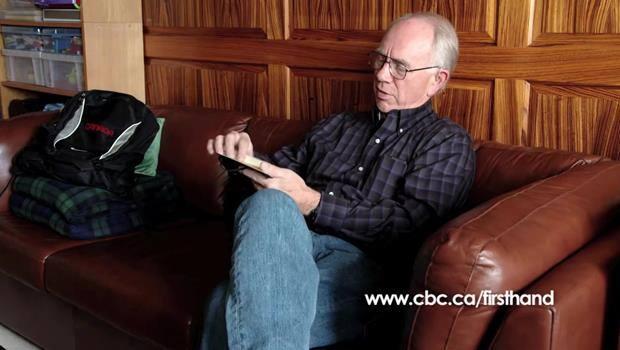 Retracing His Son's Steps