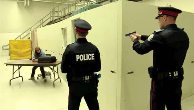 Police Learn How to Interact with Mentally Ill
