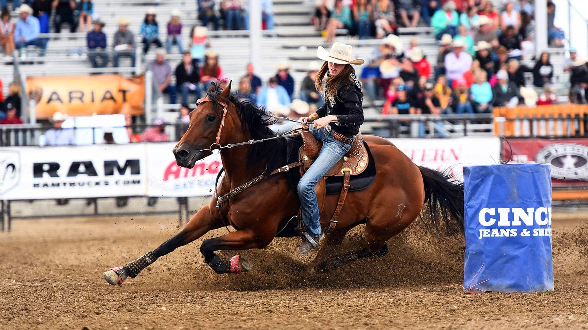 Canadian Teen Cowboys And Cowgirls Compete To Become Rodeo