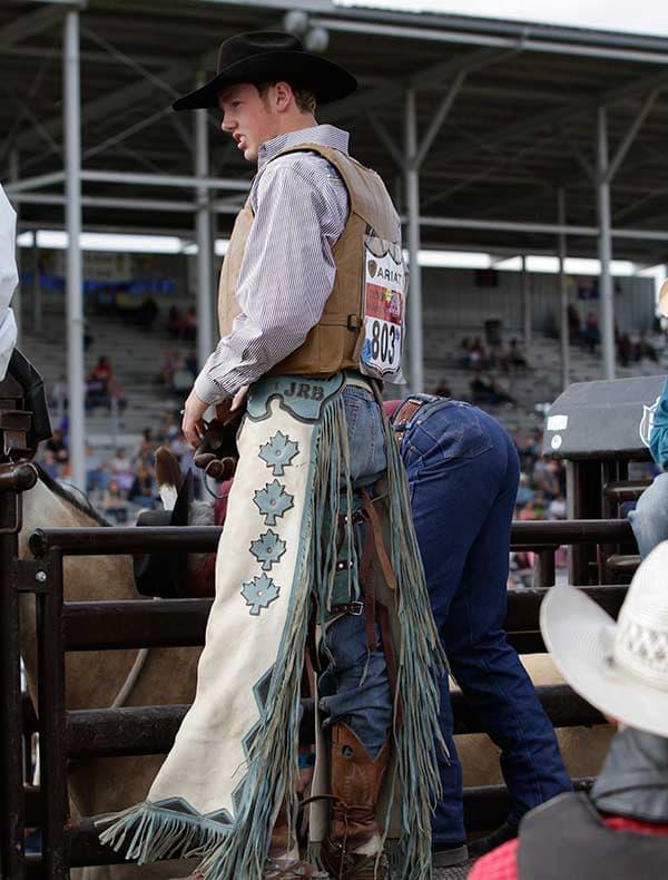 Cowboy Up Canadian Cowboy Jake Burwash On Heartland And His Rodeo Life