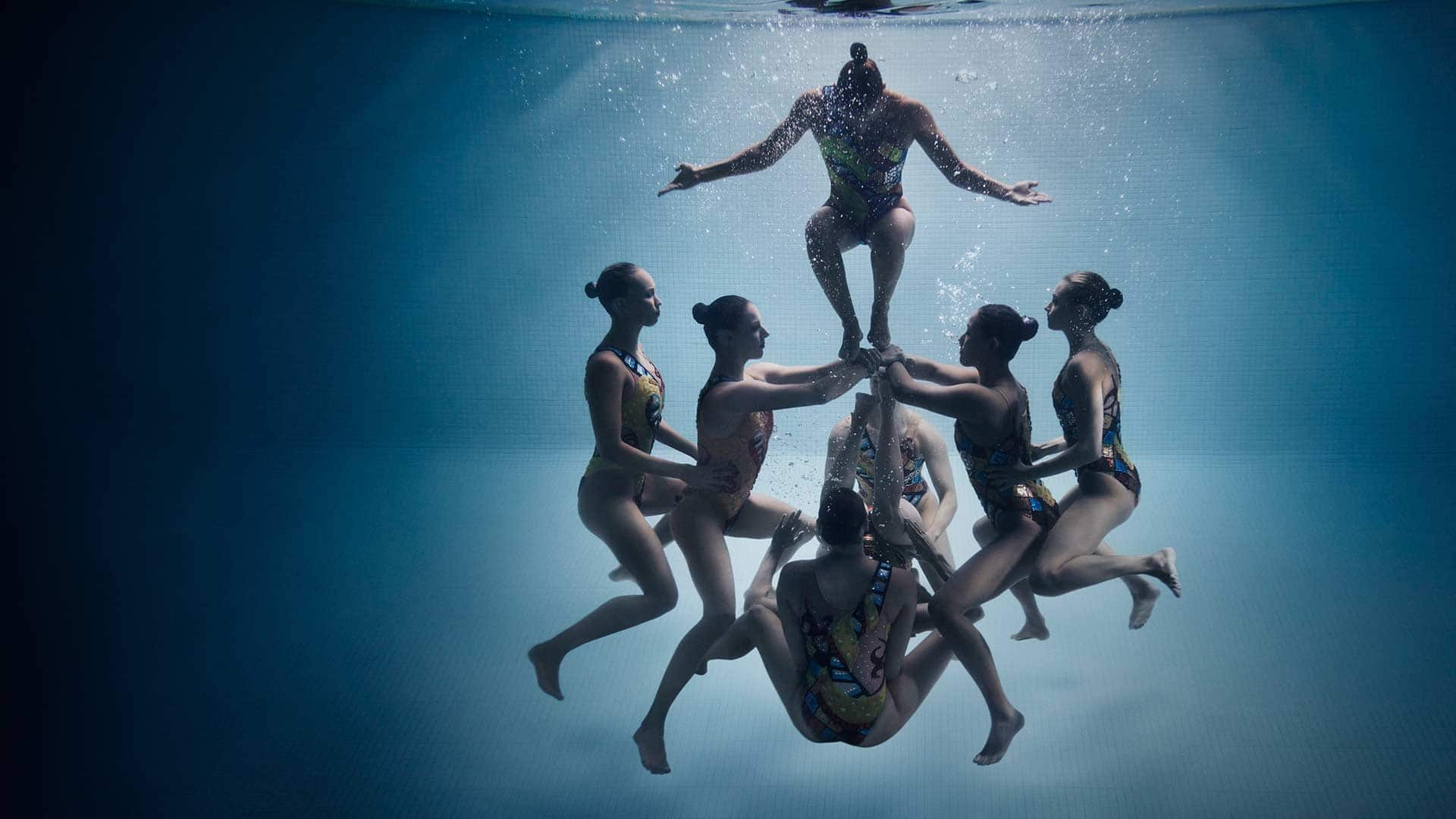 Canada 39 S Synchronised Swimming Team Battle For A Spot In