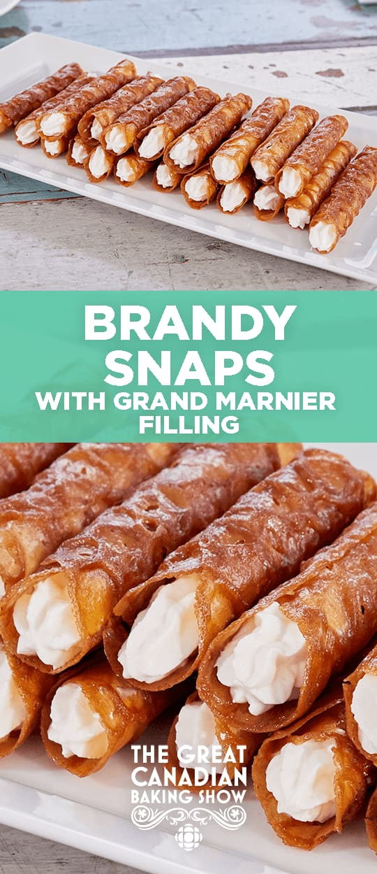 Brandy Snaps The Great Canadian Baking Show