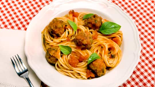 Best Ever Spaghetti and Meatballs