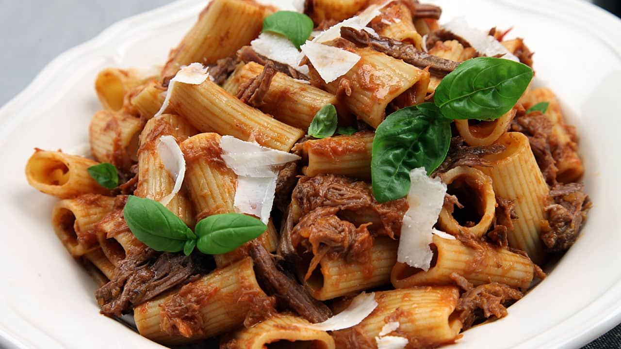 Recipe: Braised Beef Ragu with Rigatoni