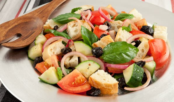 Recipes: Panzanella Salad