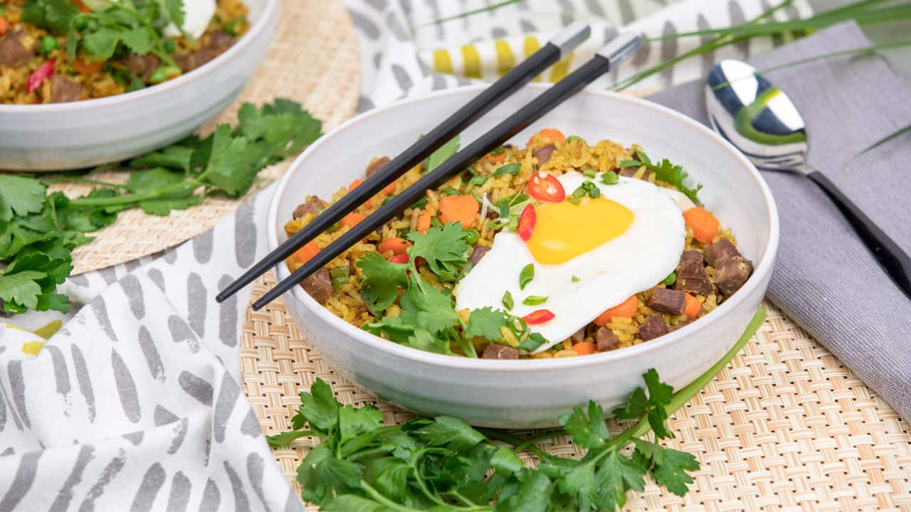 Recipe: Leftover Curry Fried Rice