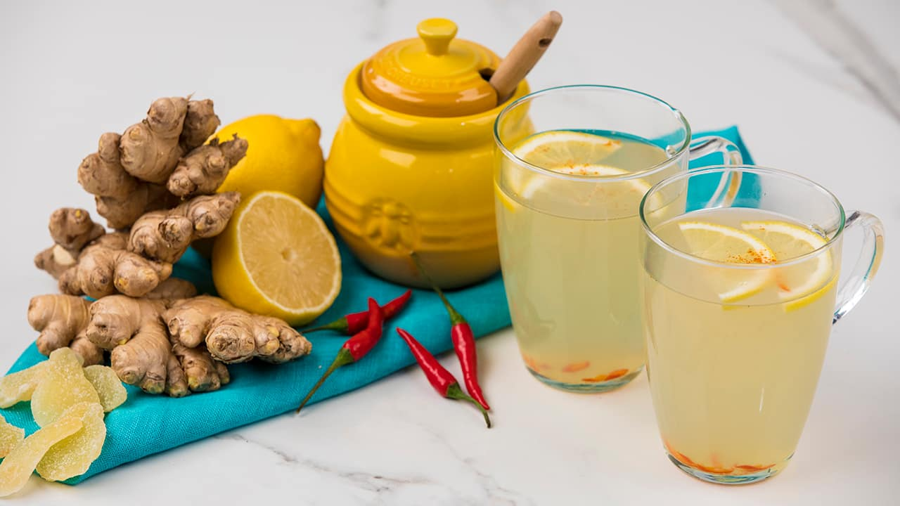 Ginger tea recipe and healthy properties of this drink 98
