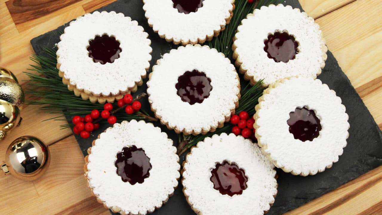 Recipe: Linzer Cookies