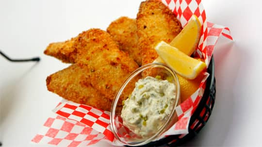 Crispy fish fillets with tartar sauce cbc life for Fried fish fillet recipes