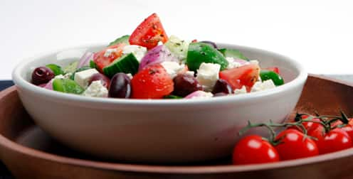 Great Big Hothouse Greek Salad