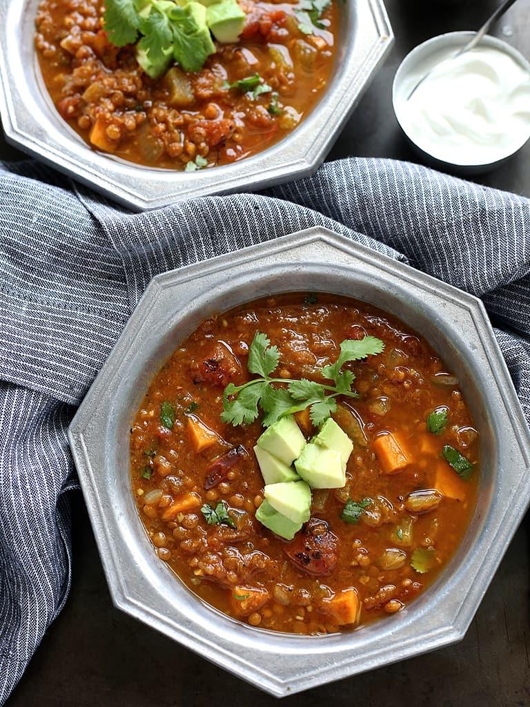 Recipe: Mexican Lentil Soup