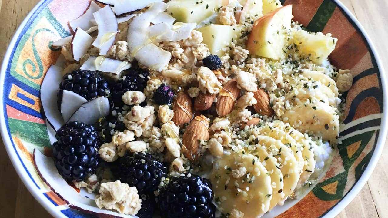 Recipe: Olympian Kaya Turski's Winter Weekend Warrior Bowl