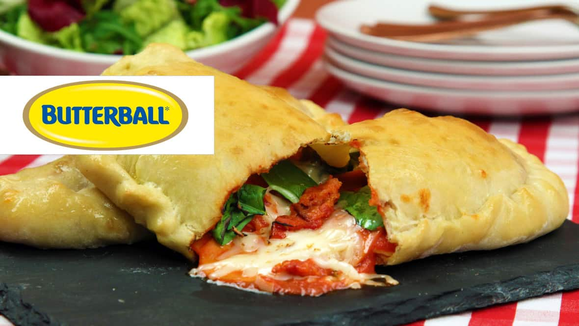Recipe: Turkey Pepperoni Calzone