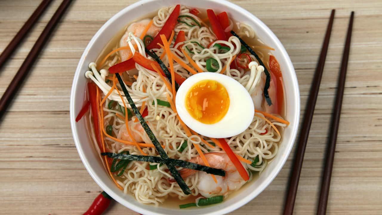 Как готовить рамен в домашних условиях по-корейски 777