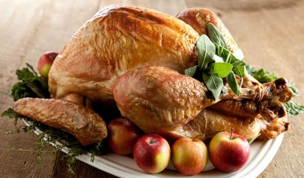 Recipe: Roast Turkey with Thyme and Rosemary