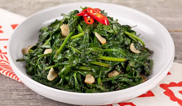 Recipes - Recipe: Sautéed Spinach with Mustard Seeds