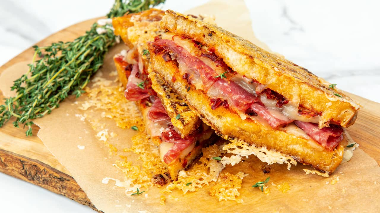 Recipe: Gourmet Grilled Cheese, 4 Ways