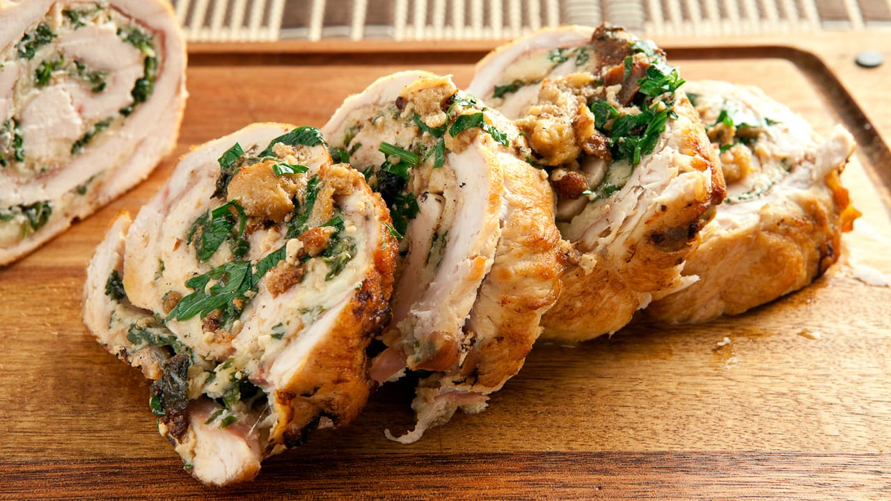 Stuffed Turkey Breast