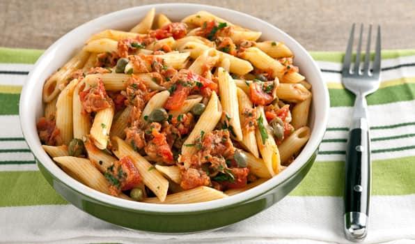 Image result for Tuna and tomato pasta