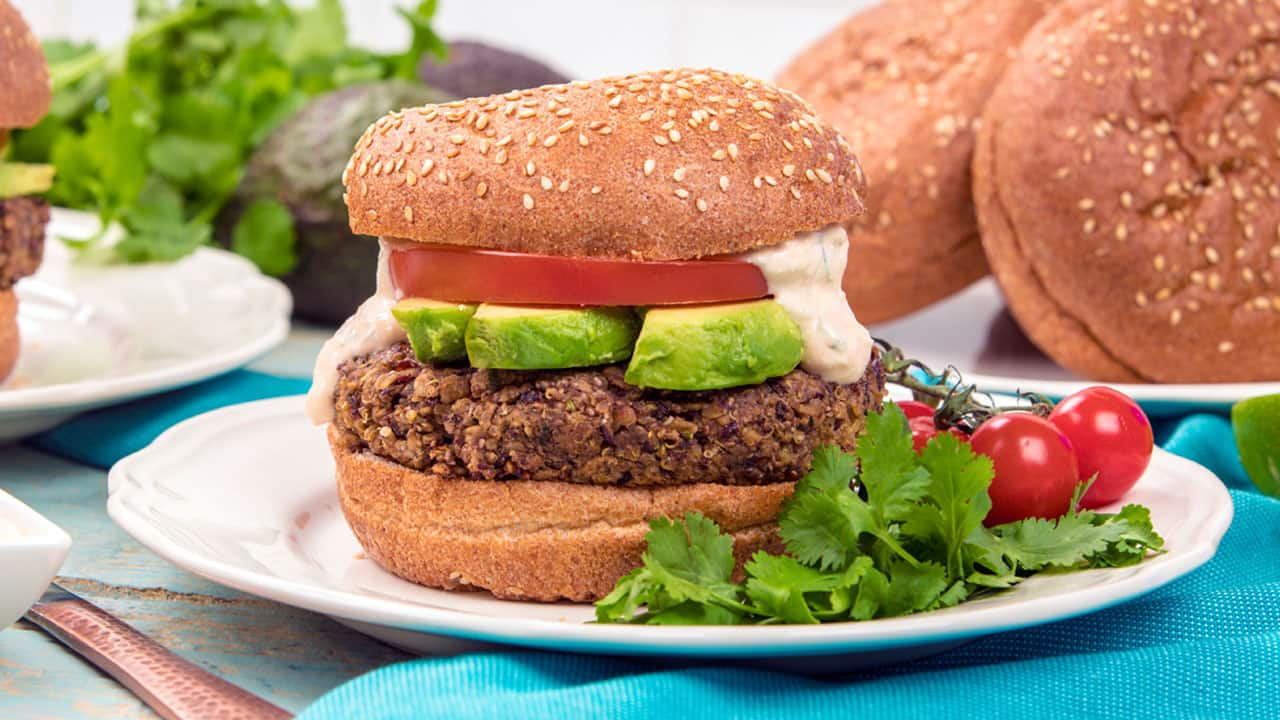 Recipe: Peggy K's Veggie Burger